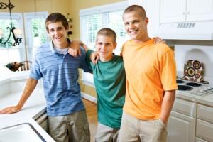 teen boys
